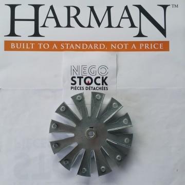 TURBINE VENTILATEUR DE COMBUSTION HARMAN ACCENTRA XXV 3-20-502221